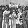 Marriage of Charles LeBel and Marie of Luxemburg