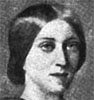 Adelaide Procter. From a painting exhibited at South Kensington. From Catherine Jane Hamilton, Women Writers: Their Works and Ways.