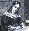 Madame Roland in Prison. From John S. C. Abbott, History of Madame Roland.