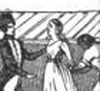 Execution of Madame Roland. From John S. C. Abbott, History of Madame Roland.