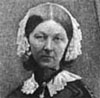 Florence Nightingale, about 1858. From a photograph by Goodman. From Edward Cook, The Life of Florence Nightingale.