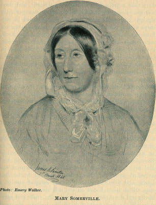 Mary Somerville. Photo: Emery Walker. From Louise Creighton,                                      Some Famous Women.