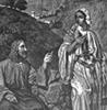 Christ conversing with the Samaritan woman