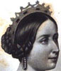 Queen Victoria. From Rose Somerville, Brief Epitomes of the Lives of Eminent Women.