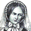 Charlotte Brontë. From William Henry Davenport Adams, Child-Life and Girlhood of Remarkable Women.