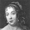 Mrs. Pepys as St. Katherine; Portrait by Hayts