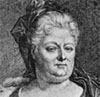 Elisabeth Charlotte, Palatine du Rhin, Duchesse d'Orleans, wife of Philippe, Brother         of Louis XIV